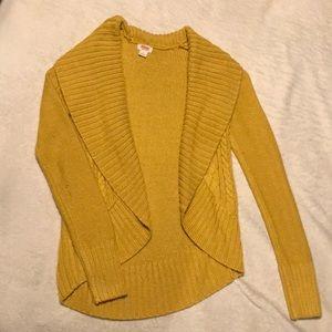 Mustard cardigan